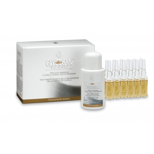GLYCOSAN PLUS BIO-SENSIL SENSITIVE SCALP AND HAIR LOSS