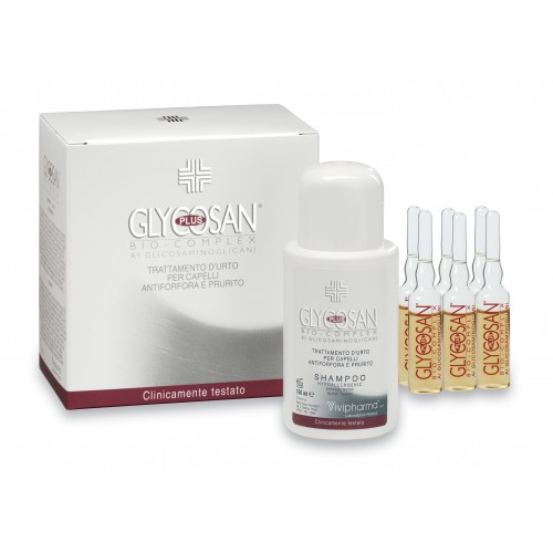 GLYCOSAN PLUS ANTI-DANDRUFF AND ANTI-ITCH SHOCK TREATMENT TO PREVENT HAIR LOSS