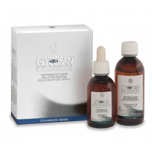GLYCOSAN PLUS SHOCK TREATMENT TO PREVENT HAIR LOSS- BOTTLE