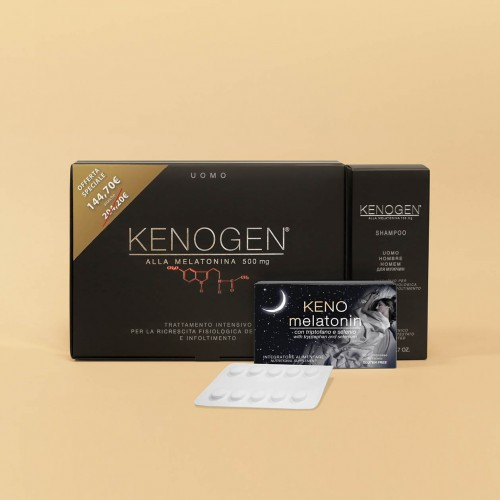 Special Offer: Kenogen with Melatonin for MAN intensive treatment against hair loss lengthening and thickening