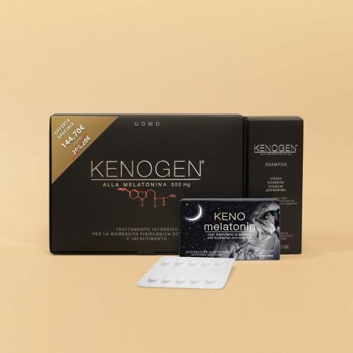 Offerta Kenogen alla Melatonina UOMO trattamento intensivo anticaduta infoltimento