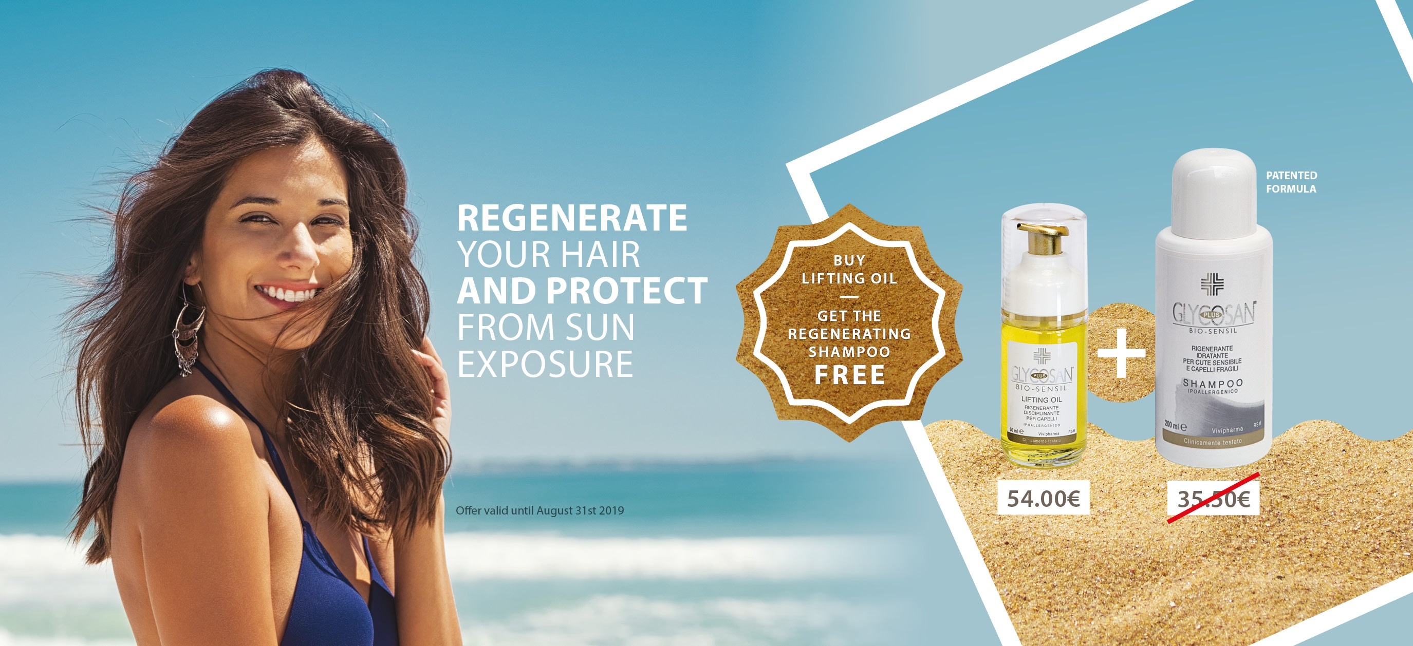buy Lifting Oil Get the Regenerating shampoo Free